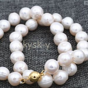 Jewelry - Genuine white freshwater cultured pearl necklace